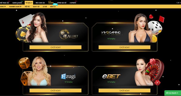 Khám phá thế giới casino đỉnh cao tại sảnh Allbet của 11bet