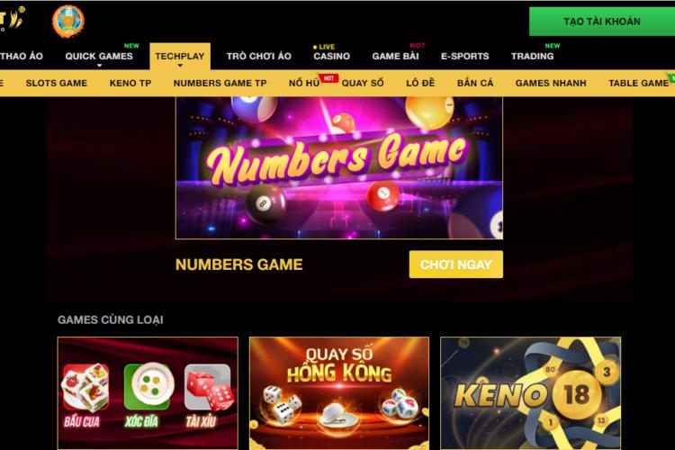 Review Numbers game TP – Chơi nhanh thắng lớn với 11bet